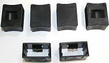Härteverstellungsschieber für Lattenroste 10er Paket (50x14-17x40 mm)