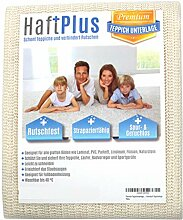 HaftPlus - Teppichunterlage, Antirutschmatte -