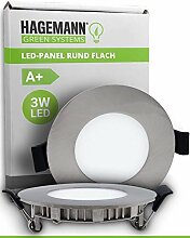 HAGEMANN® 1 x LED Einbauleuchte 3 Watt 255lm –