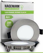 HAGEMANN® 1 x LED Einbauleuchte 3 Watt 300lm –