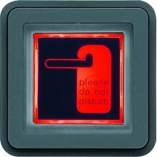 Hager cubyko Signage–Pilot Wasserdicht Rot/Grün