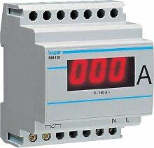Hager SM151 Amperemeter f. Wandlermessun g digital