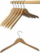 Hagspiel Kleiderbügel aus Holz, 12 St.