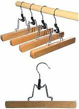 Hagspiel Kleiderbügel aus Holz, 16 Stk.