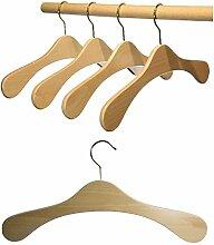 Hagspiel Kleiderbügel aus Holz, Garderobenbügel