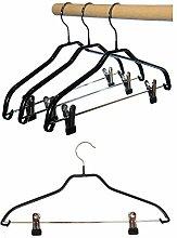 Hagspiel Kleiderbügel aus Metall, 5 Stk.
