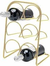 Hahn 18270065 Pisa Weinregal für 6 Flaschen,