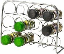 Hahn Pisa Gewürzregal für 12 Gläser Chrom