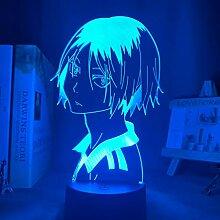 Haikyu !! Led Nachtlicht Anime Kozume Kenma Lampe