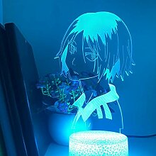 Haikyuu Kozume Tanaka Bokuto Hinata 3D LED