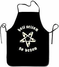 Hail Seitan Go Vegan BBQ Kitchen Cooking Apron