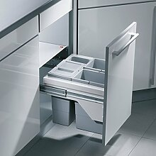 Hailo Cargo-Basic 3609-50 Einbau Abfallsammler Abfall-Eimer Mülleimer Küche
