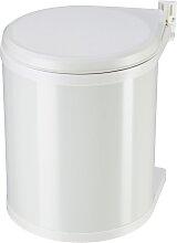 Hailo Schrank-Mülleimer Compact-Box Weiß 15 L