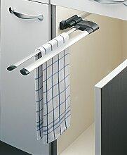 Hailo Secco Alu Line Handtuchhalter ausziehbar