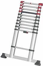 Hailo T80 FlexLine, Alu-Teleskopleiter, 11