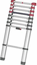 Hailo T80 FlexLine, Alu-Teleskopleiter, 9