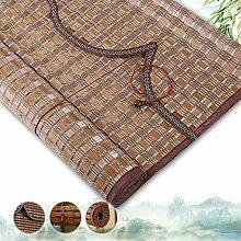 HAIPENG-Bambusrollo Rollo Bambus Anpassbare Rollos