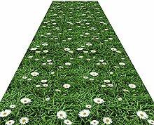 HAIPENG Läufer Teppich für Flur, Rutschfest,