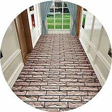 HAIPENG-Läufer Teppiche Flur 3D Pfad Muster