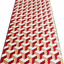 HAIPENG-Läufer Teppiche Flur 3D Teppich Lange