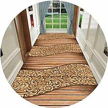 HAIPENG-Läufer Teppiche Flur 3D Teppich