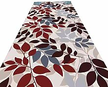 HAIPENG-Läufer Teppiche Flur Blätter Design