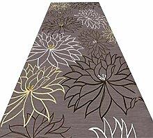 HAIPENG-Läufer Teppiche Flur Blume Design Lange