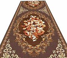 HAIPENG-Läufer Teppiche Flur Blumen Design