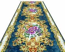 HAIPENG-Läufer Teppiche Flur Blumen Insgesamt