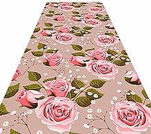 HAIPENG-Läufer Teppiche Flur Blumen Muster