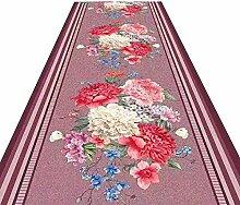 HAIPENG-Läufer Teppiche Flur Blumen Overal