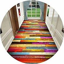 HAIPENG-Läufer Teppiche Flur Bunt Teppich