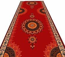 HAIPENG-Läufer Teppiche Flur Rot Teppich Mit