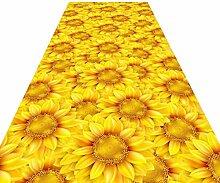 HAIPENG-Läufer Teppiche Flur Sonnenblume Teppich