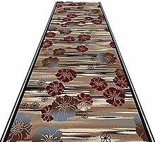 HAIPENG-Läufer Teppiche Flur Teppich Blumen