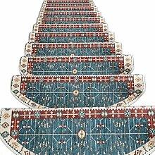 HAIPENG Treppenmatten Teppich Treppen Anti-Rutsch