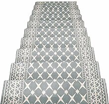HAIPENG Treppenmatten Teppich Treppen Rutschfest