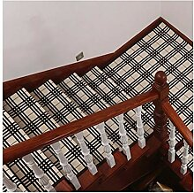 HAIPENG Treppenmatten Teppich Treppen Treter Pads