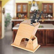 HAIPUSEN Messerblock, Küchenmesserhalter für