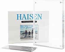 HAISEN Acryl-Bilderrahmen – 10 x 15 cm