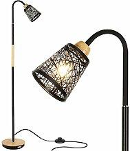 HAITRAL Stehlampe Wohnzimmer Moderne Stehleuchte