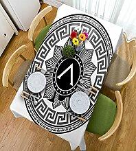 HAIXIA Tischdecke Toga Party Label mit der