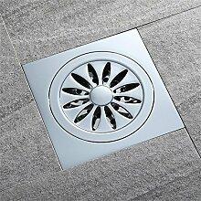 Haixng Bad Dusche Abfluss-Kupfer Quadratische