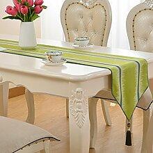 HAIYING Tischläufer Lang - Rustikale Hochzeit