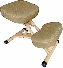 HAIZHEN Hocker Stühle Ergonomischer Kniestuhl -