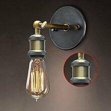 HAIZHEN Vintage Industrielle Beleuchtung Retro Luxus Wandleuchte Leuchten Innen Schlafzimmer Badezimmer Balkon Bar Gang Lampen