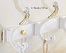 Haken, Haken, an der Wand hängenden Kleidung Haken, Haken, weiße Kleidung Haken, Tür Kleiderbügel Haken kreative Badezimmer Badezimmer.