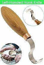 Hakenmesser Löffel Schnitzwerkzeug 1,2 Zoll Holz