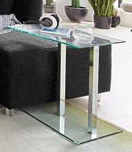 HAKU Beistelltisch, in moderner Glasoptik B/H/T:
