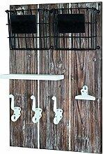 Haku-Möbel 27876 Memoboard, Holz, vintage, 9 x 37